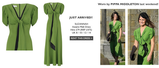 SUZANNAH - Astaire Midi Dress