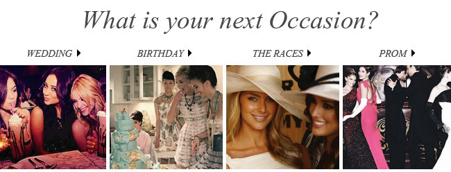 What is your next Occasion?