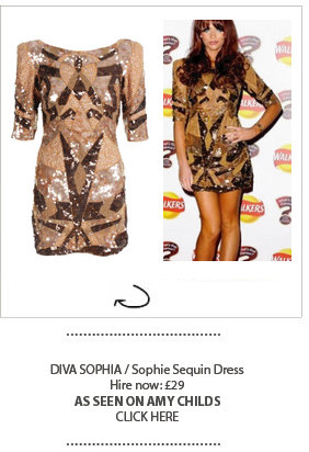 Amy Childs in Girl Meets Dress Diva Sophia
