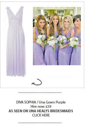 Una Healy's Bridesmaids wears Girl Meets Dress Diva Sophia